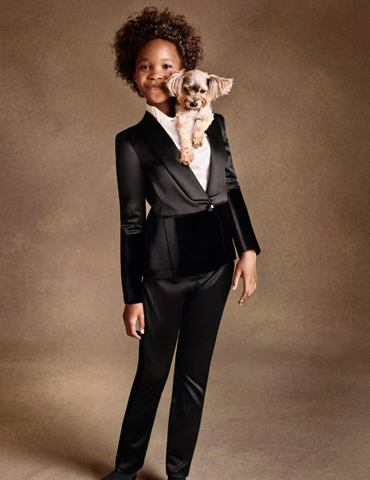 Quvenzhané Wallis has landed a major ad campaign with Armani!