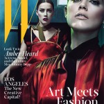 Amber Heard poses seductively for W's latest issue
