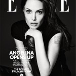 Angelina Jolie rocks Saint Laurent for Elle US June cover
