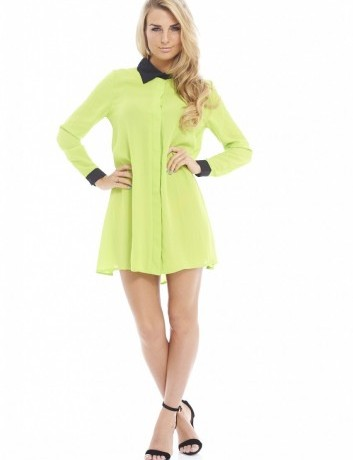 Lunchtime Buy: AX Paris contrast cuff and collar blouse dress