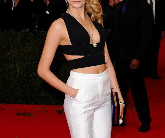 "Cara Delevingne's eyebrows are ""like a cat that licks her own fur"""