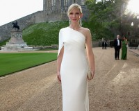 Cate Blanchett is a vision in white for Ralph Lauren Royal Marsden dinner