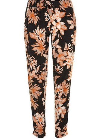 Lunchtime Buy: Dorothy Perkins black and orange Hawaii joggers