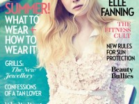 elle fanning fashion cover image