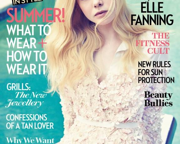Elle Fanning covers Fashion's latest issue, talks Angelina Jolie and stereotypes