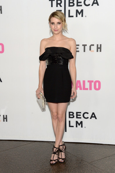 emma roberts saint laurent