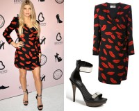 Get Fergie's Saint Laurent look