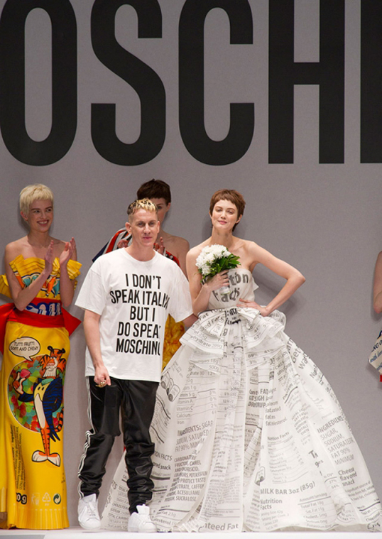 Jeremy Scott brings Moschino to London!