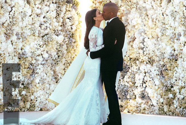 A closer look inside the Kim Kardashian and Kanye West wedding!