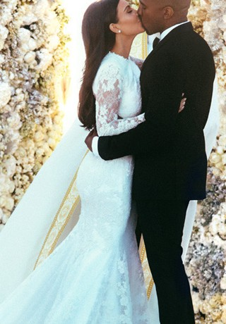 Kimye wed in Givenchy, Ashish x Topshop lands, and Justin Bieber outbids Leonardo DiCaprio