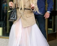 Has Lady Gaga been taking sartorial inspiration from the Kimye wedding?
