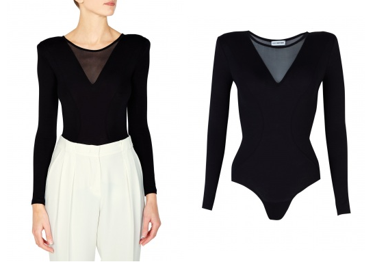 Lunchtime Buy: Body Editions mesh v neck body