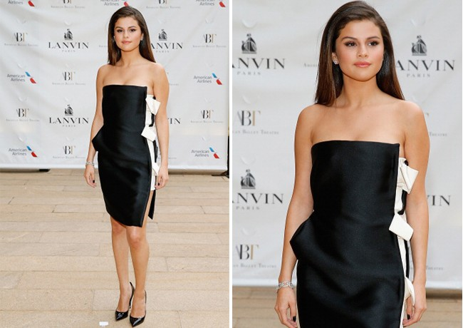Selena Gomez is the epitome of sophistication in Lanvin