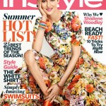 Shailene Woodley looks fresh and feminine in Dolce and Gabbana for InStyle US June