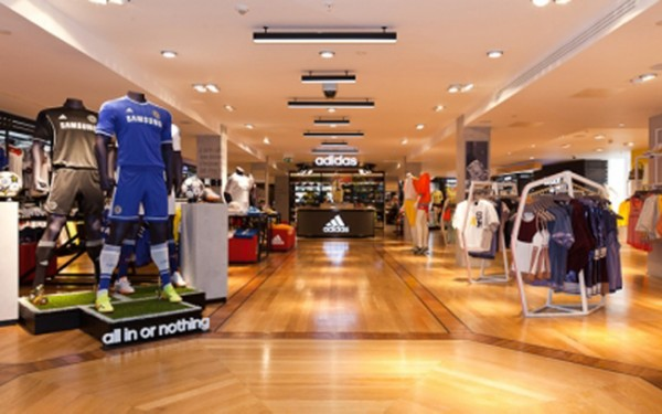 Harrods revamps its sports department!