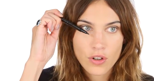 WATCH how to get Alexa Chung's iconic 60s make-up look… by Alexa Chung herself!