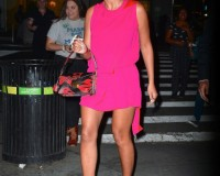 Beyonce steps out in Burberry petal shoes