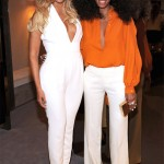 Beyonce and Solange Knowles take the plunge at Gucci Chime for Change event