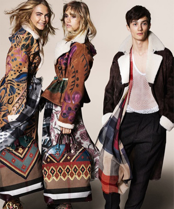 Cara and Suki for Burberry, Diane Kruger's Jason Wu bag, and a nude pregnant Erin O'Connor