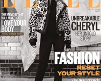 Cheryl Cole wows in DSquared2 and Philosophy for Elle UK August cover