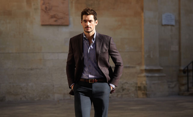 David Gandy designs underwear for M&S now