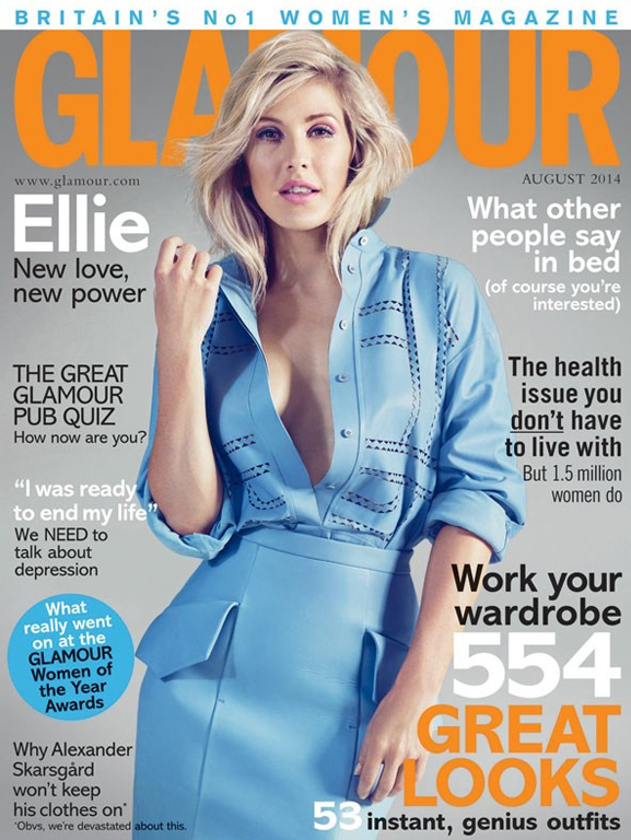 Ellie Goulding is Glamour UK's August cover girl!