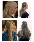 game of thrones braided hairstyle how to