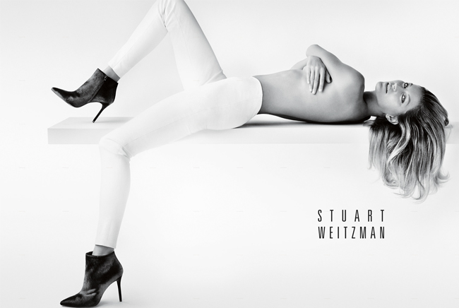 Gisele Bundchen replaces Kate Moss as the face of Stuart Weitzman