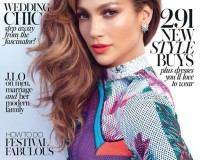 Jennifer Lopez rocks Mary Katrantzou for InStyle UK July