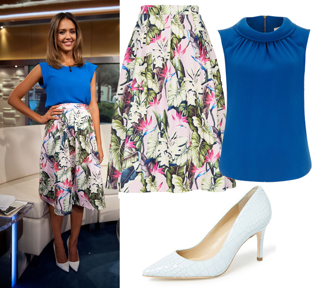 jessica-alba-get-the-look-topshop-skirt