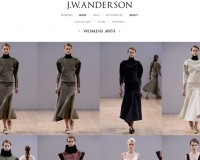 JW Anderson launches his first website