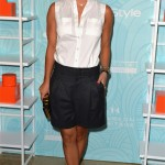 Kaley Cuoco debuts new hairdo at Beverly Hilton Hotel
