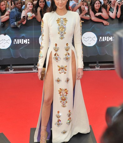 Love or hate Kendall Jenner's risqué Fausto Puglisi dress