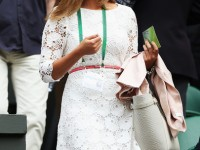 kim sears reiss dress wimbledon day 1