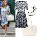 Get Kim Sears' Wimbledon look