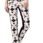 L.A.M.B photographic rose print pants