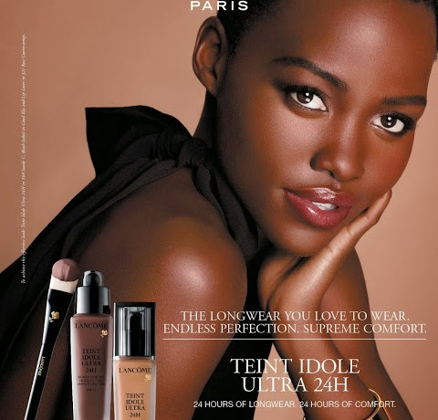 Lupita Nyong'o's debut ad campaign for Lancôme is here!