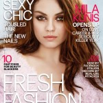 Mila Kunis shows off her pregnancy glow on Marie Claire US July cover