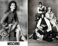 Jeremy Scott's hot supermodel line-up for Moschino autumn/winter 2014 ads
