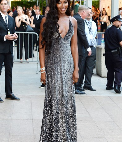 Is Naomi Campbell working on her first clothing line?