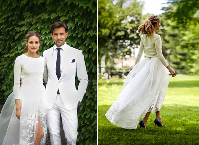 olivia-palermo-carolina-herrera-wedding-dress