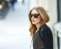 Olivia Palermo's Westward \\ Leaning sunglasses collaboration