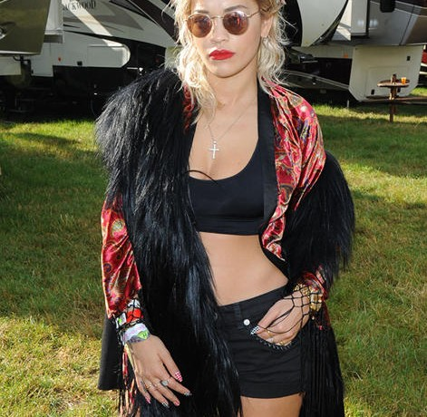 Rita Ora nails the Glastonbury Festival style trend