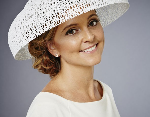 This is the world's first 3D printed Royal Ascot Hat
