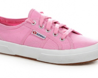 Lunchtime Buy: Superga 2750 Cotu Fashion Targets Breast Cancer Begonia Pink sneakers