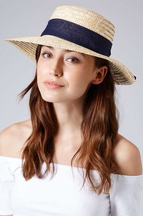 Lunchtime Buy: Topshop wide brim boater hat