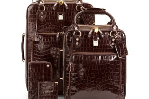 Lunchtime Buy: Aspinal of London leather cabin case set