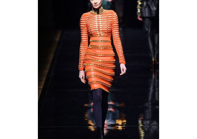Balmain's Olivier Rousteing actually loves his work being copied…