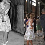 Beyonce and Blue Ivy wear matching Dolce and Gabbana in New York
