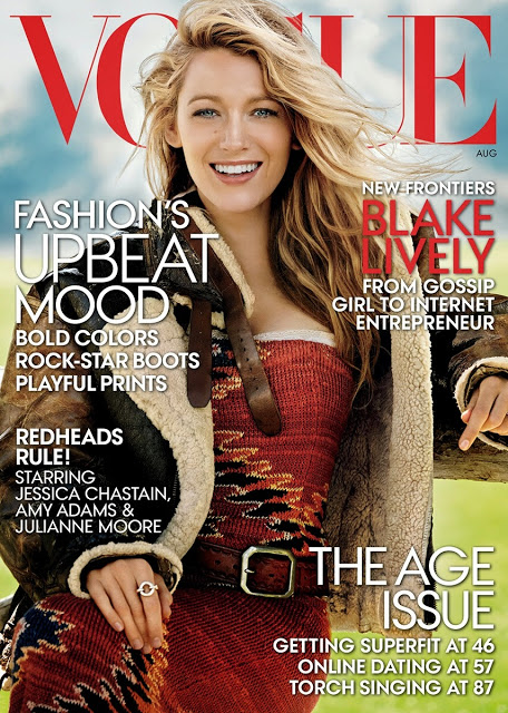 Blake Lively's 73 question challenge for American Vogue August issue